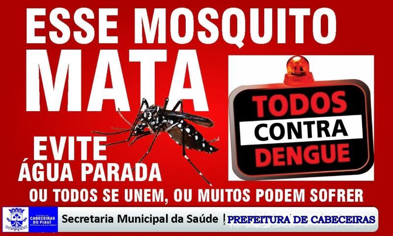 Prefeitura de Cabeceiras, através da Secretaria de Saúde intensifica as ações de combate a dengue