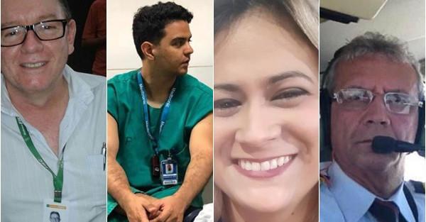 Saiba quem são os piauienses que morreram em acidente aéreo no Ceará