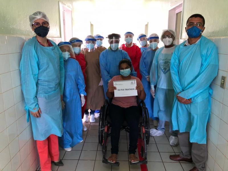 Simplício Mendes tem primeira paciente Curado de Coronavírus (COVID-19).
