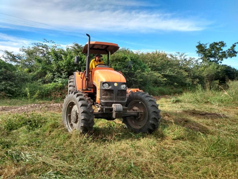 Jatobá do Piauí preparação de terras Continua a todos Agricultores