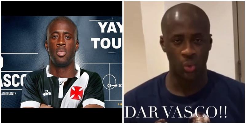 Candidato à presidência do Vasco, Leven Siano anuncia acerto com Yaya Touré