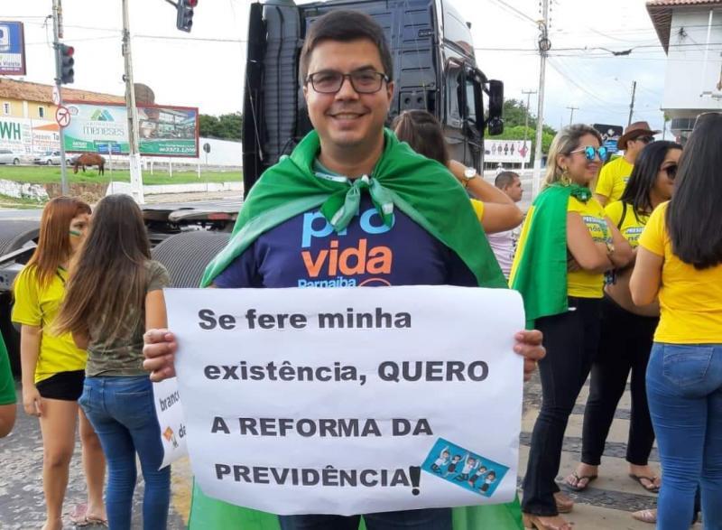 Ítalo Caldas lança pré-candidatura pelo PSC em Parnaíba