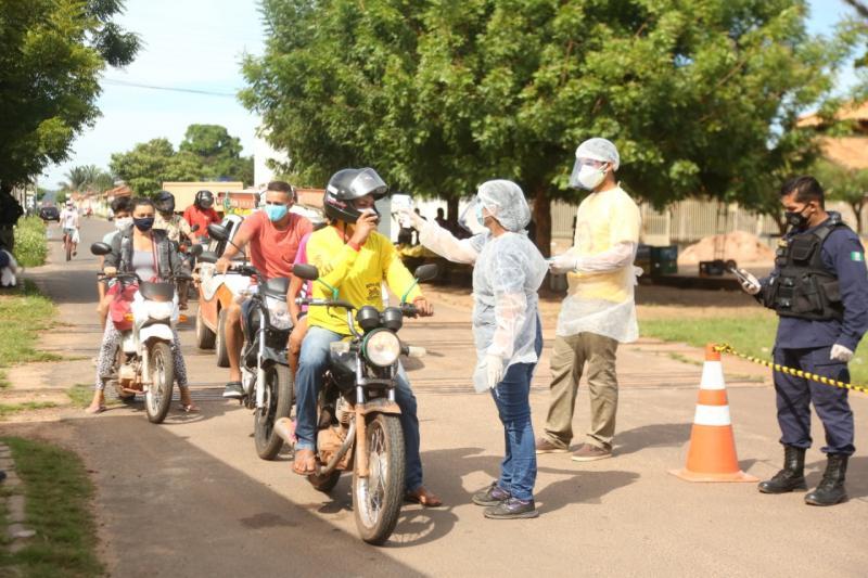 Prefeitura de Altos implanta barreira sanitária como medida de prevenção ao coronavírus
