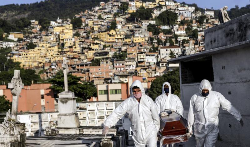 Brasil já tem mais de meio milhão de infectados por covid-19