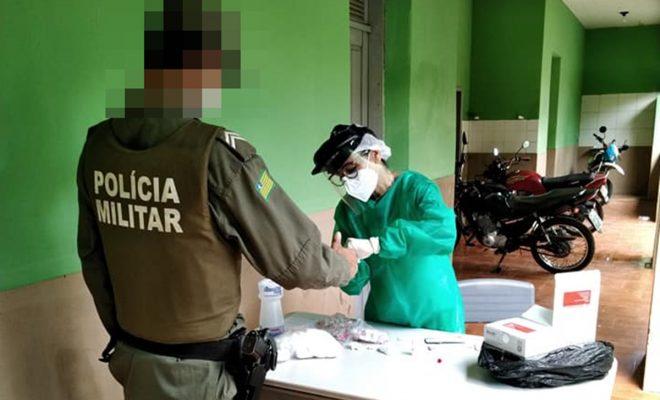 Policial militar do 15º BPM de Campo maior testa positivo para coronavírus