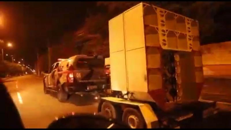 Coronafest: Polícia interrompe festa em Teresina e apreende paredões de som