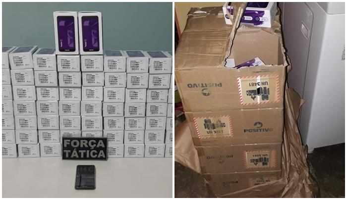 Comerciante é preso com mais de 80 celulares roubados em cidade do Piauí