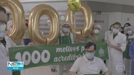 Covid-19: Pernambuco registra novo recorde de pessoas curadas