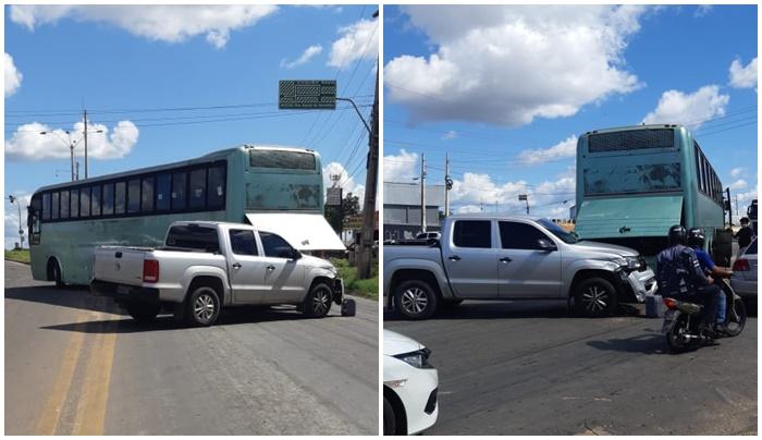 Acidente envolvendo três veículos deixa BR-343 parcialmente interditada em Teresina