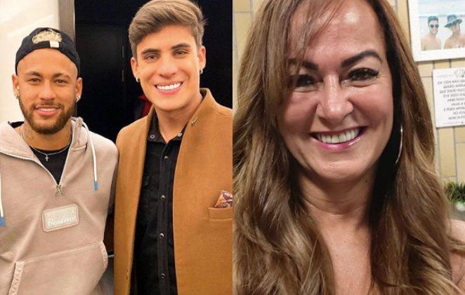 """Neymar chama namorado da mãe de """"viadinho"""" e diz que ela mentiu pra família: 'dá o c* do c*****'"""