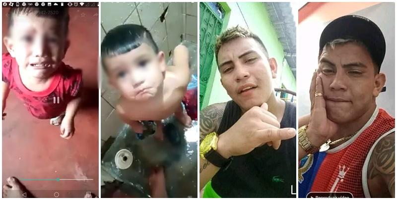 Pai causa revolta ao gravar vídeo espancando o próprio filho de 2 anos para se vingar da mãe