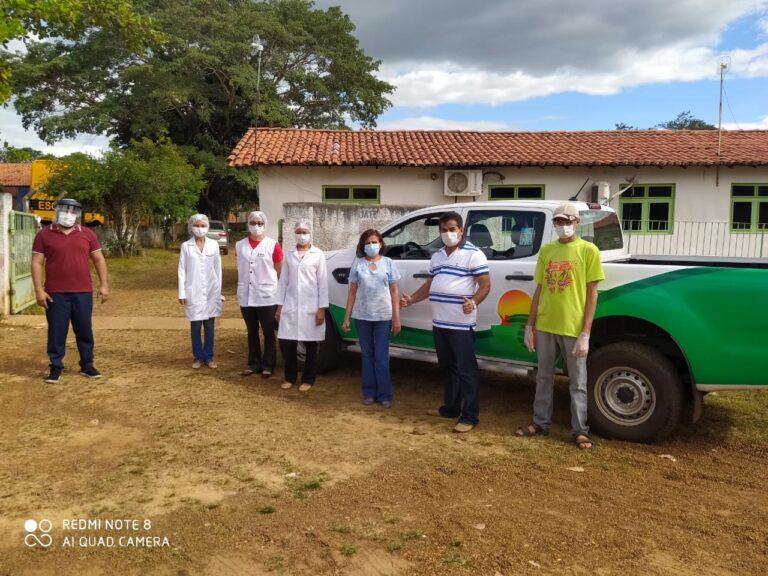 Jatobá do Piauí é contemplado Com caminhonete 0 km Para serviço de saúde