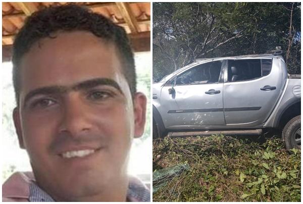 Empresário morre e criança de 04 anos sobrevive em grave acidente na BR-135 no Piauí