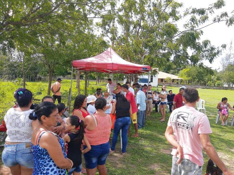 Projeto Saúde em Foco no Brandão foi recorde em atendimentos em Luis Correia