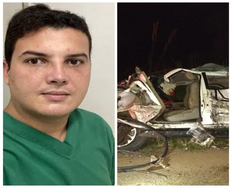 Filho de prefeito morre em acidente na BR-316 no Maranhão
