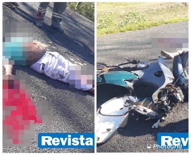 Acidente envolvendo duas motocicletas deixa um homem morto no Norte do Piauí