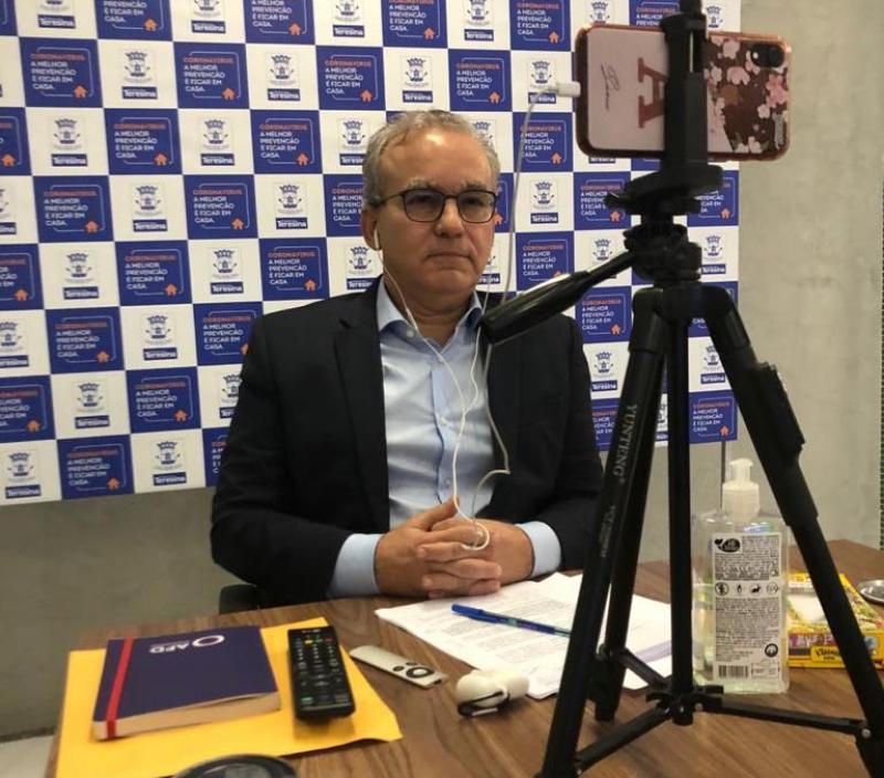Prefeitura de Teresina decretará lockdown por 4 dias antes da retomada