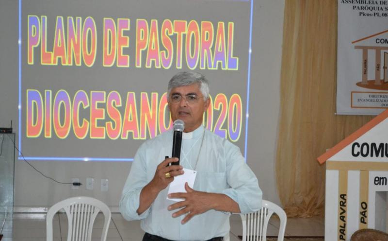 Covid-19: Dom Plínio continuará mais sete dias em Teresina por recomendações médicas