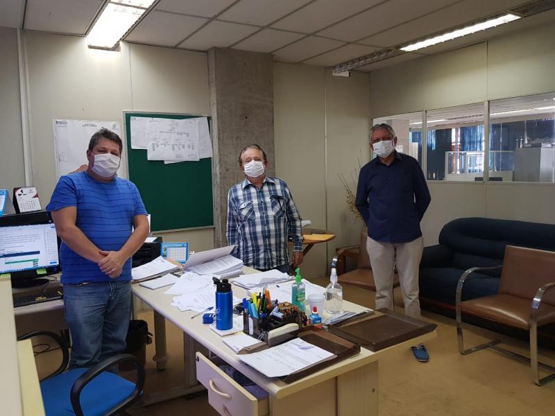 Prefeito vai a Agespisa para solucionar problema de abastecimento de água em Uruçuí