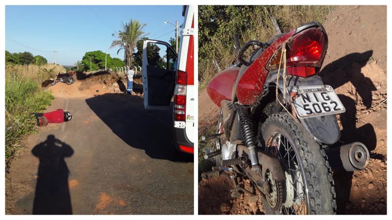 Mulher morre e filho fica gravemente ferido após acidente em cidade do Piauí