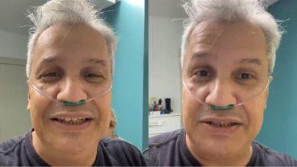 """""""Pedi para morrer"""", revela Sikêra Júnior sobre internação por coronavírus"""