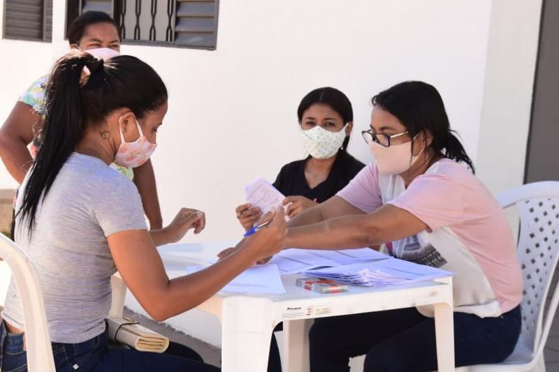 Sorteados do Residencial Alto da Cruz realizam vistorias nas casas