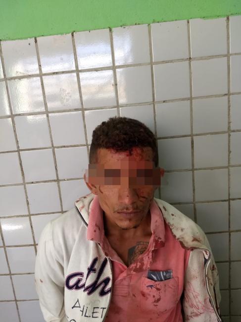 Suspeito é espancado por populares durante tentativa de assalto em Teresina