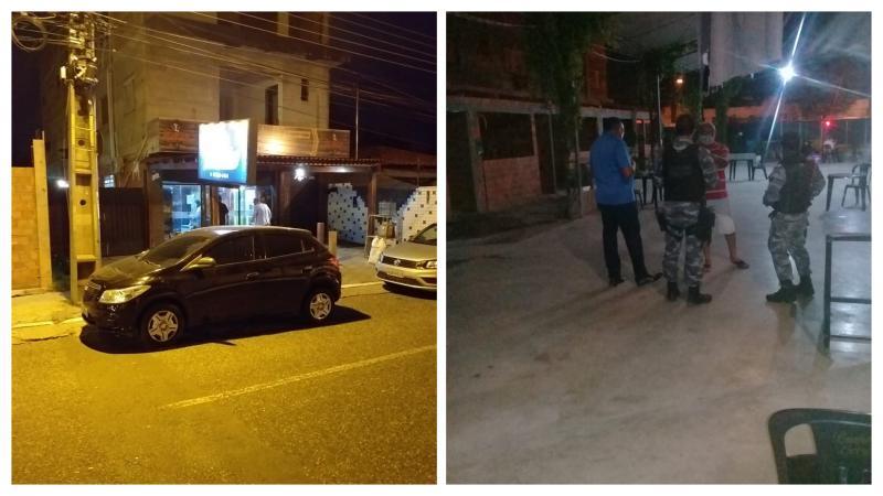PM acaba com live beneficente em depósito do vereador Major Paulo Roberto em Teresina