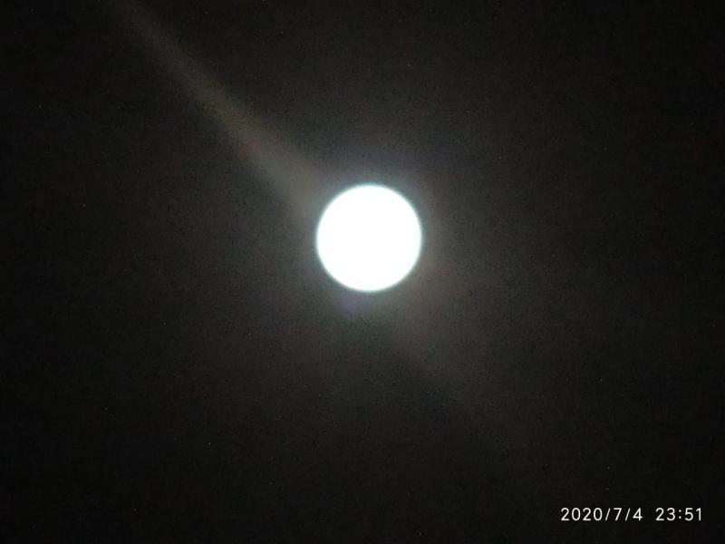 Lua enlouquece seus fãs na noite deste sábado