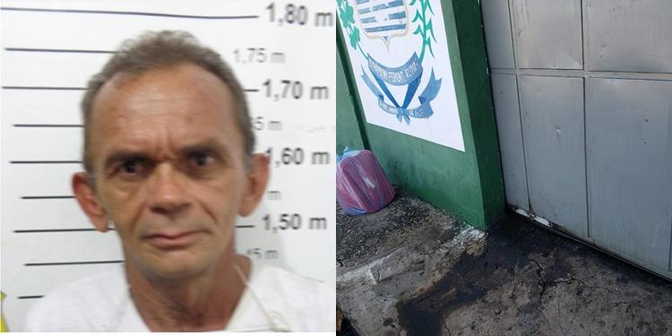 Polícia prende detento que fugiu ao fazer manutenção de portão de penitenciária no Piauí