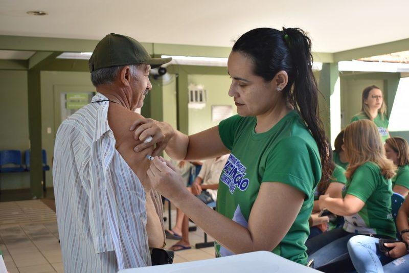 Campanha de Vacinação contra Influenza atinge 93,08% do público alvo em Picos