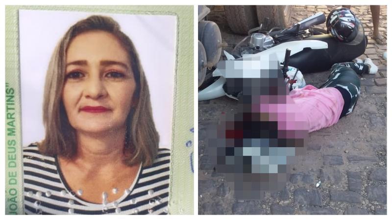Mulher morre atropelada após tentar fazer ultrapassagem em Teresina