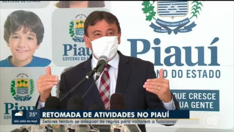 Wellington Dias divulga cronograma de retorno das atividades econômicas no Piauí