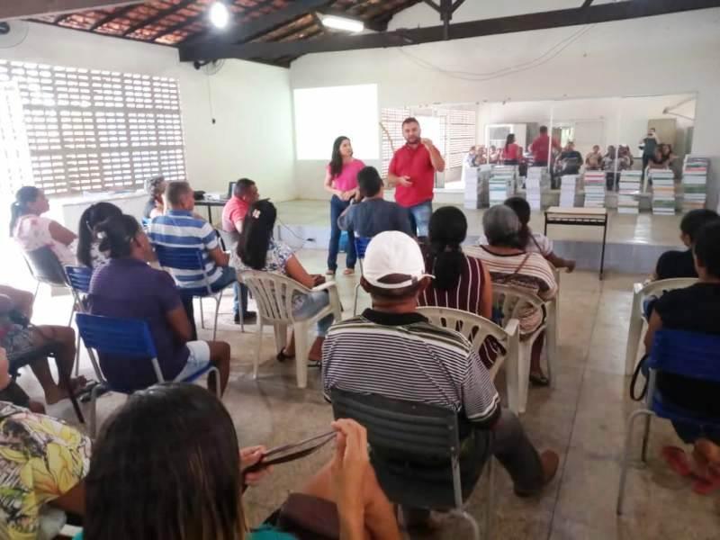 Prefeitura realiza encontro com agricultores familiares para discutir chamada pública do PNAE