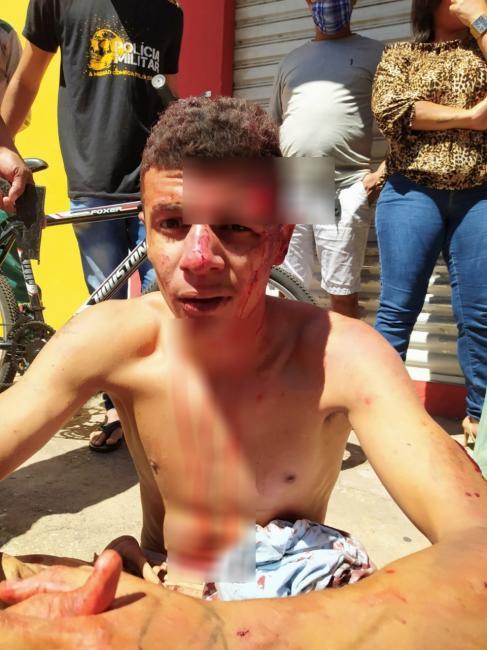 Acusado de assalto é espancado por populares na zona Sul de Teresina