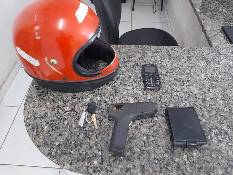 Suspeito de roubar mototaxista durante corrida é preso em Timon