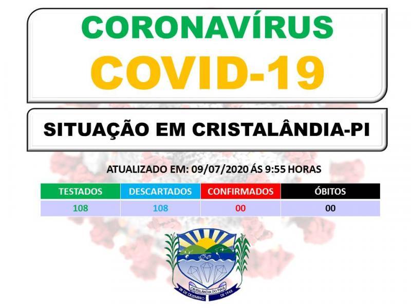 Município de Cristalândia segue sem registro de COVID-19 e vira referência no combate ao vírus.