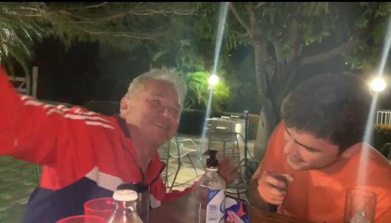 Vídeo mostra Assis Carvalho em chácara um dia antes de sofrer infarto