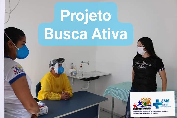 Sigefredo Pacheco: Secretaria municipal de saúde de Sigefredo Pacheco inicia projeto busca ativa