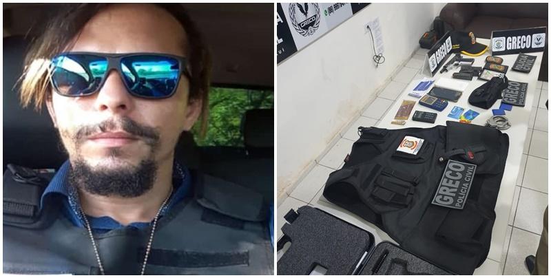 Falso delegado preso em Teresina é na verdade assaltante de carro