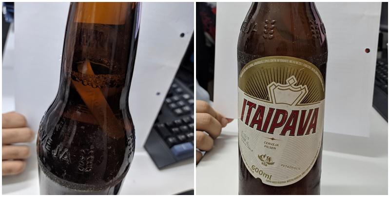 Itaipava é multada após cliente do Piauí encontrar 'objeto estranho' em garrafa