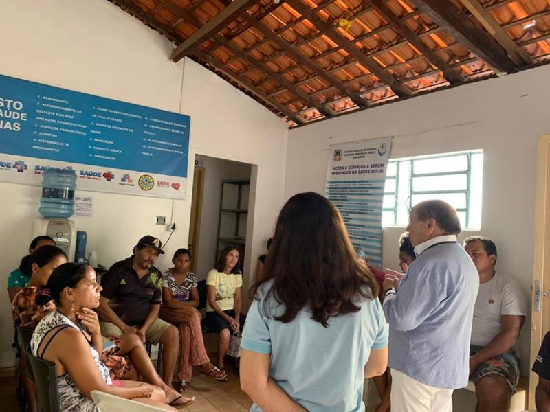 Bairro Areias recebe palestra de Profissionais de Saúde