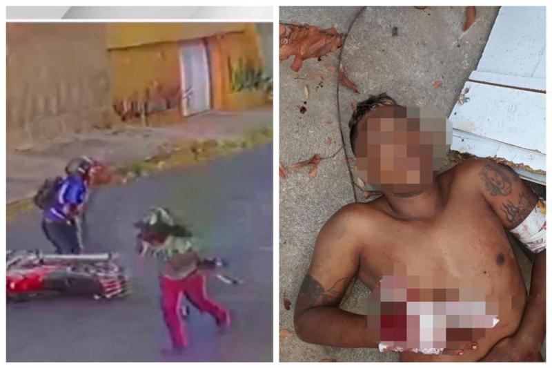 Assaltante é espancado durante tentativa de roubo em Teresina