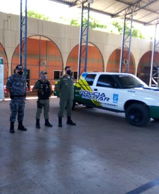 POLICIA MILITAR: GPM DE SÃO FELIX DO PIAUÍ É CONTEMPLADA COM UMA VIATURA POLICIAL