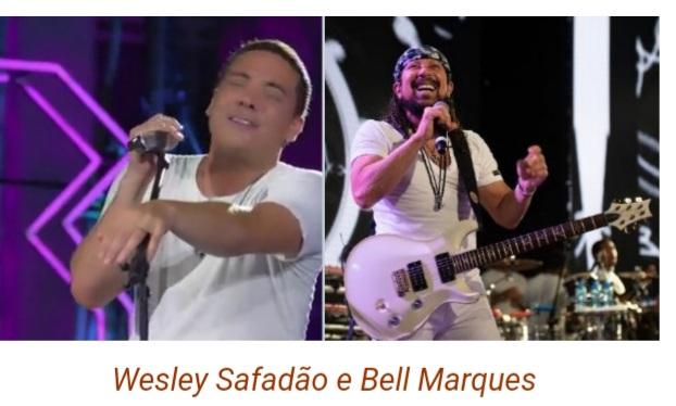É  hoje Wesley Safadão e Bell Marques  anima o sábado 25de julho em live