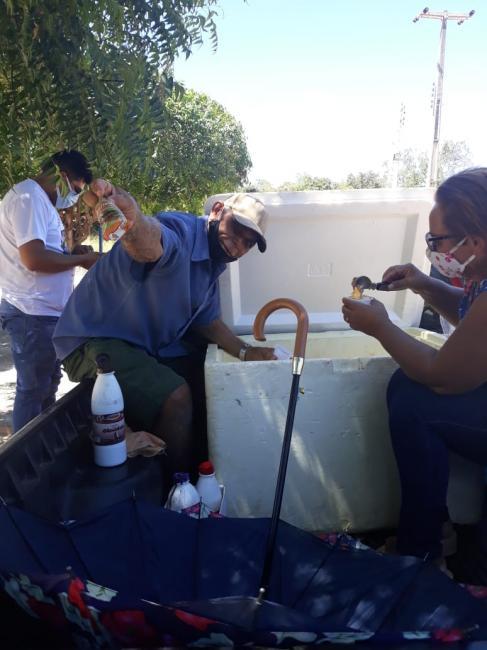Parceiros da Semec distribuem Sorvetes e picolés gratuito para as crianças de São Félix do Piauí.