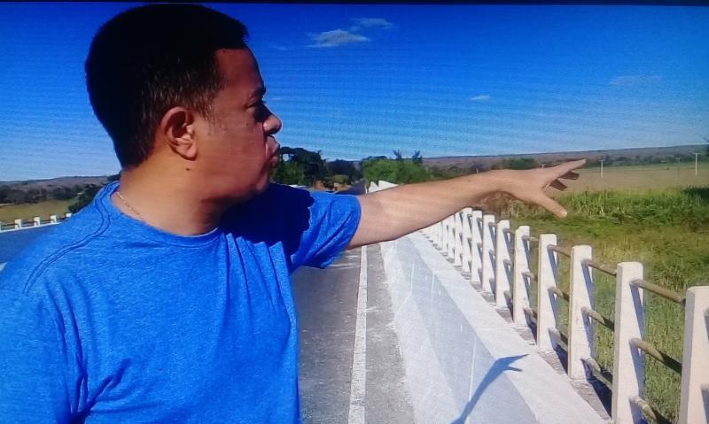 Jornalista coloniense faz apelo emocionante ao presidente  Bolsonaro para salvar o Rio Gurgueia