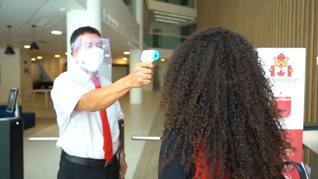 Escolas estaduais começam a receber termômetros para a retomada das aulas no MA