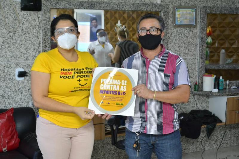CTA de Floriano realiza ação de conscientização contra Hepatites virais
