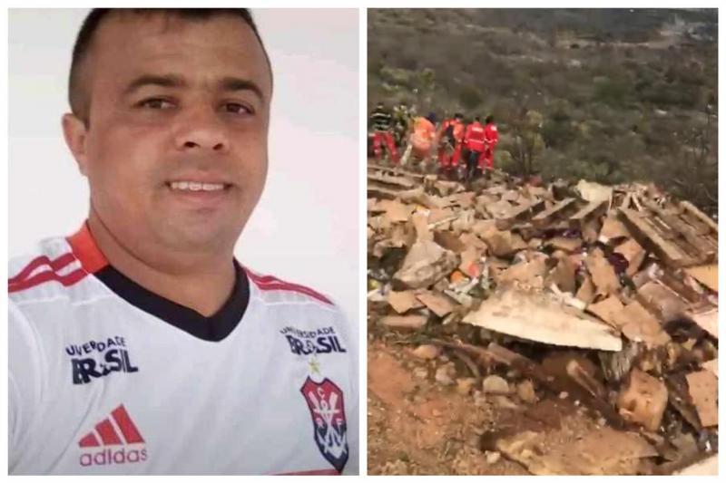 Passageiro de caminhão morre após veículo cair em Serra do Sul do Piauí
